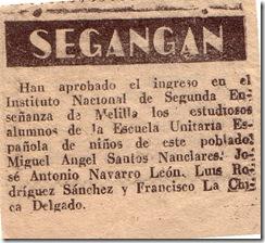 Instituto de Melilla año 1953