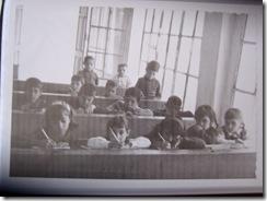 Interior del  único aula