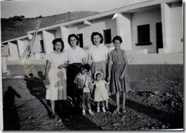 Casas de la Jardina, Angeles Amparito Mama RosaMari Paco y Yo