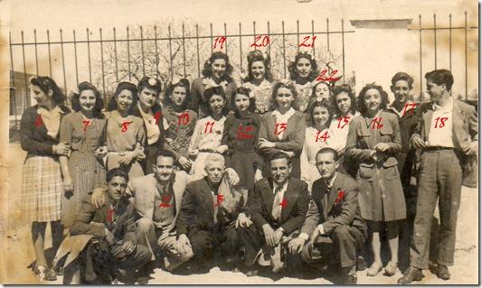 Mi abuelo y quien cooce a quien 1946 numeradas