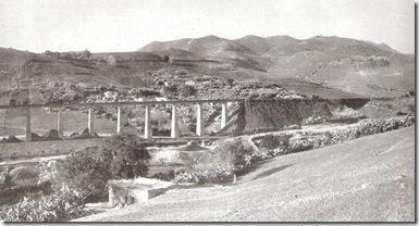 Panoramica de la Mina Navarrete y viaducto, foto Semanario La Esfera año 1916